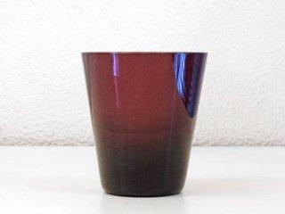 レイミューラ Reijmyre マンボ Mambo ビンテージ ガラスタンブラー パープル 1950-60s  スウェーデン グラス 北欧ガラス A ◇