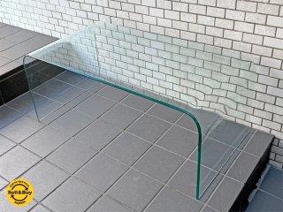 コンチネンタルファニチャー Continental Furniture サターン SATURN ガラスローテーブル 120� IDC大塚家具取扱い ■