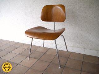 ハーマンミラー HermanMiller イームズ Eames プライウッド ダイニングチェア DCM 廃盤 2003年製 ウォールナット材 状態良好 名作チェア MoMA ミッドセンチュリー ◇
