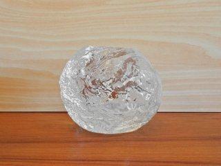 コスタボダ KOSTA BODA スノーボール Snowball スウェーデン キャンドルホルダー アン・ウォルフ Ann Wolf デザイン ガラス 北欧雑貨 ◇
