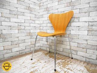 フリッツハンセン Fritz Hansen セブンチェア Seven Chair ビーチ材 アルネヤコブセン Arne Jacobsen ●