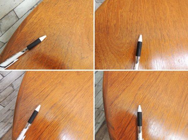 エベネゼル・グーム Ebenezer Gomme ジープラン G-PLAN フレスコ Fresco 伸長式 ダイニングテーブル チーク材 EX W121.5〜167.5cm UKビンテージ ●