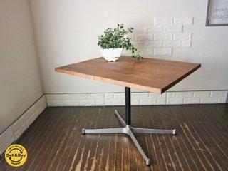 グリニッチ greeniche ウォールナット 天板 オリジナル スタンダード カフェテーブル Xレッグ w90 ◎