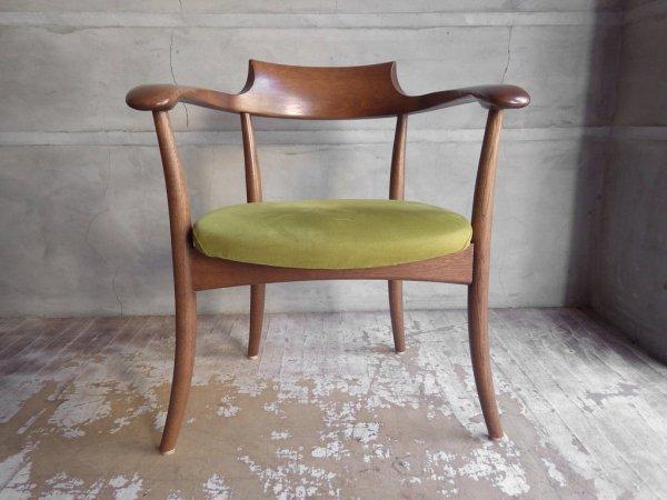 飛騨産業 HIDA キツツキ クレセント アームチェア CRECENT Arm Chair SG260A オーク材 WD色 佐々木敏光 デザイン 定価¥74,800〜 C ♪