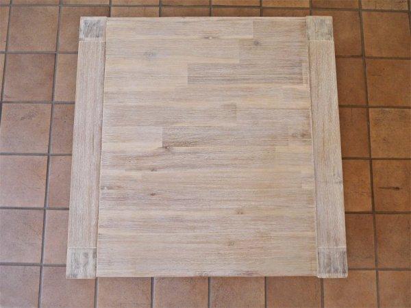 ウニコ unico マノア MANOA ローテーブル W750 アカシア無垢材 西海岸 定価¥36,080- ◇