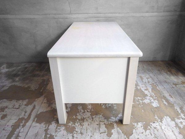 モモナチュラル momo natural シエル CIELE テレビ台 AVボード W90cm パイン材 ホワイト ♪