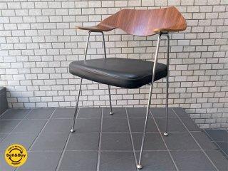 ハビタ habitat ロビン・デイ Robin Day アームチェア Chair 675 プライウッド ビンテージ ミッドセンチュリー ■