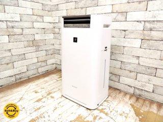 シャープ SHARP 加湿 空気清浄機 KI-HS50 ホワイト 2018年製 プラズマクラスター 23畳 美品 ●