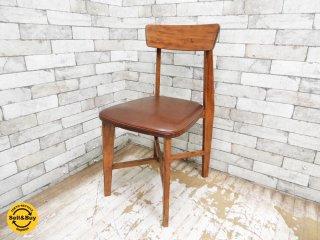 ジャーナルスタンダード journal standard Furniture シノン チェア CHINON CHAIR LEATHER 本革 ●
