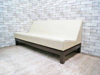 西堀晋 デザイン ヒロビロ ソファ hirobiro sofa 3シーター ●