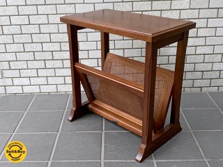 マルニ木工 maruni 地中海シリーズ サイドテーブル マガジンラック ■