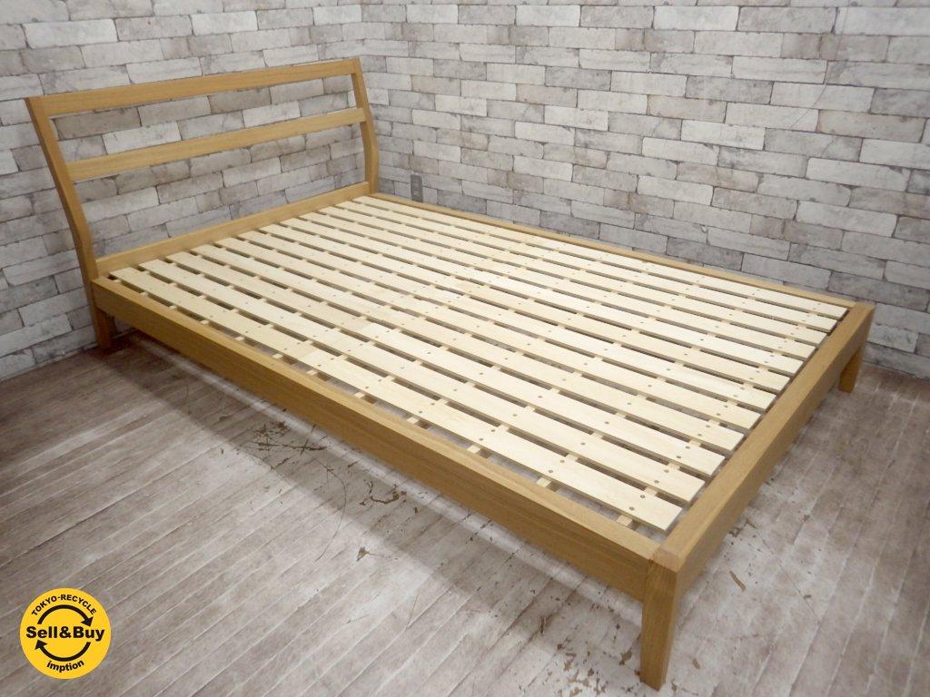 フレーム ベッド 無印 良品