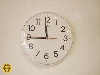 セイコー SEIKO 電波時計 KX301H Radio Wave Control  ウォールクロック 壁掛時計 見やすい大きなアラビア数字 スタイリッシュデザイン ★
