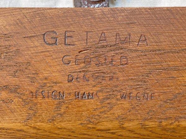 ゲタマ GETAMA GE240 イージーチェア 1人掛け ソファ ビンテージ オーク材 スプリングクッション ハンス・J・ウェグナー 北欧 デンマーク ■