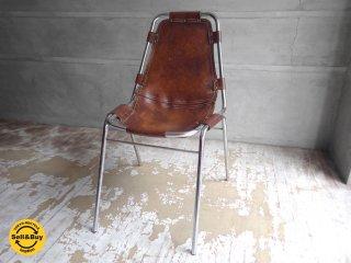 シャルロット・ペリアン Charlotte Perriand レザルクチェア Les Arcs Chair ブラウン ビンテージ♪