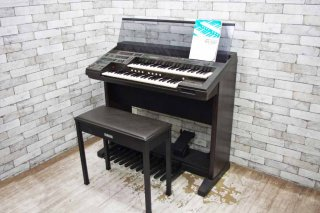 ヤマハ YAMAHA エレクトーン ELECTONE 電子 ピアノ EL-50 95年製 イス付き シンセサイザー 音楽 楽器 作曲 鍵盤 キーボード ●