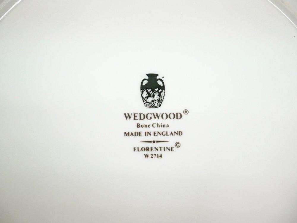 ウェッジウッド WEDGWOOD フロレンティーン Florenteine ターコイズ プレート 27cm ●