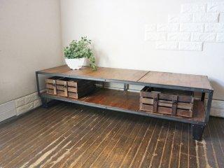 ジャーナルスタンダードファニチャー Journal Standard Furniture カルビ CALVI TVボード L AVボード ポコボックス POCO BOX C 付き ◎
