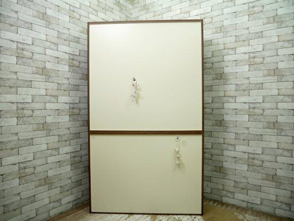 堀田木工所 HOTTA WOODY カップボード 食器棚 クリスS ハイタイプ アルダー材 ウォールナットカラー 定価\183,370- ●