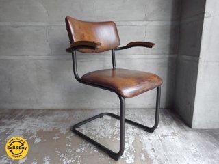 ノットアンティークス Knot Antiques ロックダイニングチェア アームチェア Lock Dining Chair インダストリアル♪