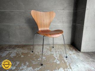 フリッツハンセン Fritz Hansen セブンチェア Seven Chair アルネヤコブセン Arne Jacobsen ナチュラルウォルナット 北欧家具 デンマーク ♪