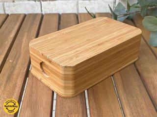 九雲 QUMO 竹のお弁当箱 ウレタン仕上げ 三宝 伝統工芸 B ■