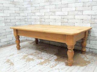 ペニーワイズ THE PENNY WISE パイン材 無垢材 ローテーブル センターテーブル カントリースタイル ●