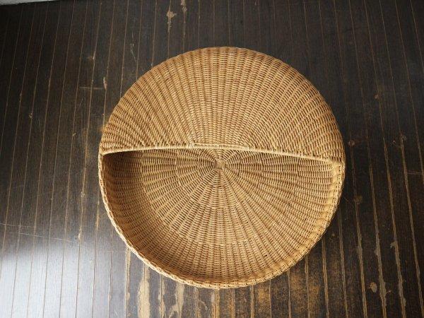 イデー IDEE ポッド POD あぐら 座椅子 ラタン 籐製 岡嶌要 デザイン 希少品 プロトタイプ ◎