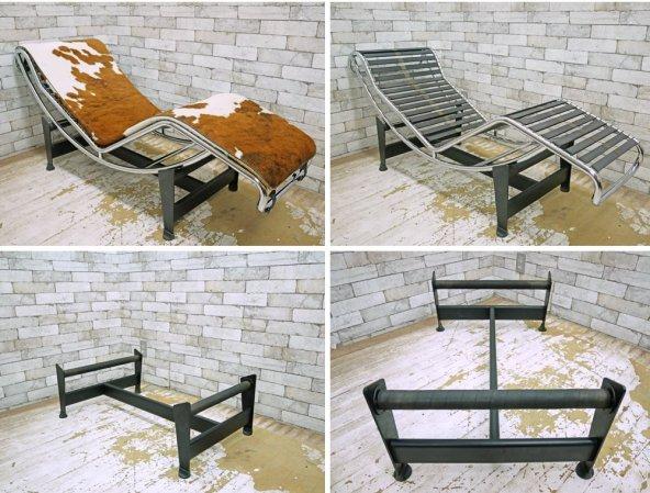 LC4 シェーズロング リプロダクト 長椅子 ソファ ハラコレザー 巨匠 ル・コルビジェ Le Corbuiserデザイナーズ家具 ●