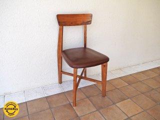 ジャーナルスタンダード journal standard Furniture シノン チェア CHINON CHAIR LEATHER ダイニングチェア 本革 レザー ラバーウッド ◇