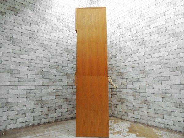 ウニコ unico トゥオ TUO キッチンボード カップボード 食器棚 アルダー材 W126cm 廃盤 広松木工 ●