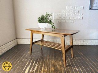 カリモク60 karimoku60 リビングコーヒーテーブル Sサイズ ウォールナットカラ— ジャパニーズミッドセンチュリー ◎