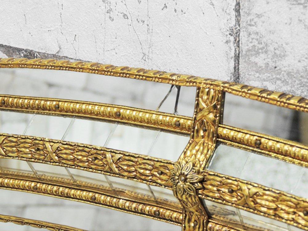 ヨーロピアンクラシカル European Classical ウォールミラー 鏡 大型 デコラティブ ●