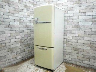 ナショナル National ウィル WiLL 冷凍冷蔵庫 ホワイト 2002年製 162L NR-B16RA-W 廃番 ノスタルジック ★