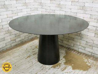 ボーコンセプト Bo Concept アマリ AMARI ダイニングテーブル ラウンド 円形 ブラック モノトーン シンプルモダンスタイル ●