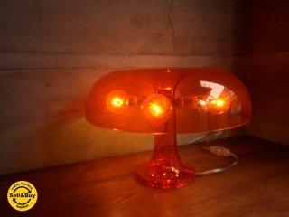 アルテミデ Artemide ネッシノ NESSINO テーブルランプ クリアオレンジ 2004年製 スペースエイジ ♪