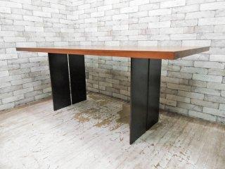 リーヴァ Riva 1920 ナチュラ NATURA ダイニングテーブル ウォールナット無垢材 イタリアンモダン アルフレックス取扱い 定価689,700円 ●