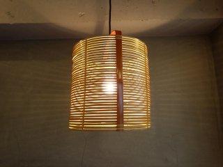 ヤマギワ yamagiwa 竹製 ペンダントライト ♪