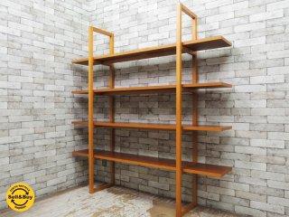 ドリームベッド dream bed 木製 オープンシェルフ シンプルモダン アクタス取扱い ●
