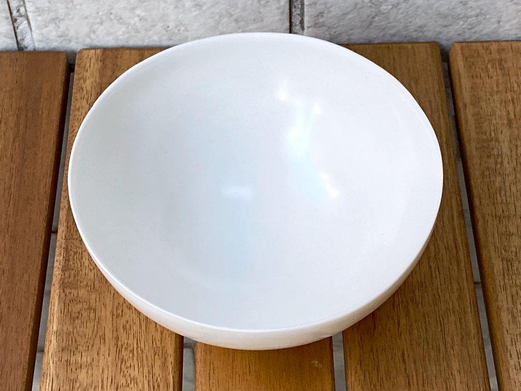 黒田泰蔵 TAIZO KURODA 白磁 鉢 茶碗 希少 E ■