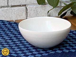 黒田泰蔵 TAIZO KURODA 白磁 鉢 茶碗 希少 G ■