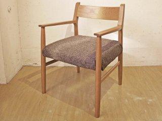 クラッシュゲート CRASH GATE イージーライフ Easy Life ホップチェア HOP Chair アーム ラウンジチェア オーク材 カバーリング ★