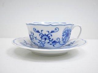マイセン Meissen ブルーオニオン Blue Onion カップ&ソーサー C&S A ●