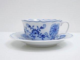 マイセン Meissen ブルーオニオン Blue Onion カップ&ソーサー C&S B ●