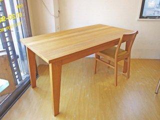 北欧スタイル オーク材 Oak ダイニングテーブル Dining Table 幅150cm 廃番品 ★