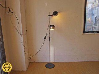 ロジェ・タロン Roger tallon ビンテージ フロアランプ Floor lamp 2灯 照明 スタンドライト フランス ミッドセンチュリー ★