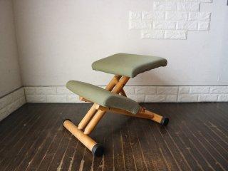 ストッケ STOKKE マルチバランス MALTI balans バランスチェア 学習椅子 グリーン 北欧 ノルウェー ◎