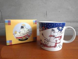 アラビア ARABIA ムーミン マグカップ クリスマス・グリーティング 1997-2002 未使用品♪