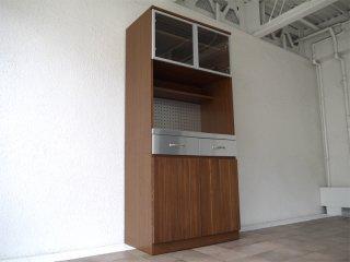 ウニコ unico ストラーダ STRADA 廃番 キッチンボード ・ S オープンタイプ W800 アッシュウッド / タモ材 カップボード 食器棚 レンジボード 定価¥116,640- ◇