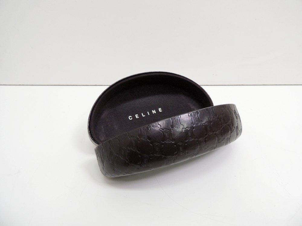 セリーヌ Celine サングラス SC1730G 60サイズ ブラウン ケース付き ●
